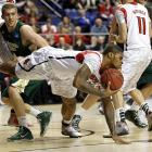 <bold>Defeated North Carolina A&T 79-48</bold> <bold>Defeated Colorado State 82-56 </bold> <bold>Next: Oregon </bold>(<bold><italics>SI's live bracket</italics></bold>) <bold>Chane Behanan and the Cardinals forced Colorado State into a season-high 20 turnovers and limited one of the nation's best rebounding teams to 24 boards.</bold>