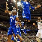 <bold>Defeated Valparaiso 65-54</bold> <bold>Defeated Memphis 70-48</bold> <bold>Next: vs. Duke (</bold><bold><italics>SI's live bracket</italics></bold><bold>)</bold> <bold>Michigan State limited Memphis to sub-30-percent shooting. </bold>