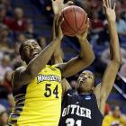 <bold>Defeated Davidson 59-58</bold> <bold>Defeated Butler 74-72</bold> <bold>Next: vs. Miami </bold>(<bold><italics>SI's live bracket</italics></bold>) <bold>Marquette got eight points off the bench from forward Davante Gardner, who hit six of his eight free throws.</bold> <bold>Through the first two games, Marquette hit 38-of-46 from the line.</bold>
