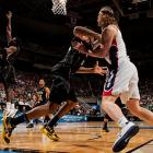 <bold>Defeated Pitt 77-55</bold> <bold>Defeated Gonzaga 76-70</bold> <bold>Next: vs. La Salle </bold>(<bold><italics>SI's live bracket</italics></bold>) <bold>Elias Harris and Gonzaga used a 12-0 run to take a 49-41 lead with 11:53 left, but Wichita State outscored the Zags 35-21 from there. </bold>