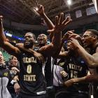 <italics>SI's best shots from the third round of the NCAA Tournament. (Three photographs from each game.)</italics> <bold>Wichita State pulled off the biggest upset of the first week of the tournament, shocking Gonzaga, a one seed. Cleanthony Early and Ron Baker scored 16 points apiece for the Shockers,</bold> <bold>who hit 14 3-pointers.</bold> <bold>Defeated Pitt 77-55</bold> <bold>Defeated Gonzaga 76-70</bold> <bold>Next: vs. La Salle </bold>(<bold><italics>SI's live bracket</italics></bold>)