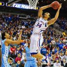 <bold>Defeated Western Kentucky 64-57</bold> <bold>Defeated North Carolina 70-58</bold> <bold>Next: vs. Michigan </bold> (<bold><italics>SI's live bracket</italics></bold>) <bold>Perry Ellis chipped in three points and two rebounds.</bold>