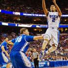 <bold>Defeated Albany 73-61</bold> <bold>Defeated Creighton 66-50</bold> <bold>Next: vs. Michigan State </bold> (<bold><italics>SI's live bracket</italics></bold>) <bold>Duke is back in the Sweet 16 for the fourth time in five years and for the 23rd time in school history. Quinn Cook scored seven points and dished out a team-high six assists to help the Blue Devils get there.</bold>