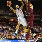 <bold>The senior guard was white hot against Minnesota, draining six of nine three-point attempts and scoring 25 points in 34 minutes for the Gators. Rosario is banged up -- he's healing from a broken finger, a bad ankle and a hip pointer -- but showed his perimeter prowess against the Gophers. </bold>