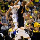 <bold>Trey Burke's performance in Michigan's opening tournament game against South Dakota State (six points on 2-12 shooting) likely left many Wolverines fans worried for Big Blue's title hopes. But the sophomore rebounded with an 18-point effort in getting past VCU and into the Sweet 16 for the first time since 1994.</bold>