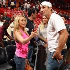 Welcome to <italics>Did You See That?</italics>, the weekly gallery that poses the eternal question Ms. Panettiere appears to be posing to the befuddled heavyweight pug while the Charlotte Bobcats get beat by the Heat at American Airlines Arena in Miami.
