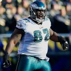 """Jean-Gilles is believed to be the first active NFL player to ever get lap-band surgery, something the lineman believes was necessary. """"I thought there was no way I could live like this,"""" he said in 2010 following the procedure. Jean-Gilles says that his weight at one point reached around 400 pounds, but the surgery and post-procedure training got him down to 345. That 2010 season was the last he'd play in the NFL, however."""