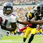 In his first season with Baltimore and first time playing in the heated Ravens-Steelers rivalry, Anquan Boldin was a key figure in the 17-14 comeback victory. On his 30th birthday, Boldin amassed 68 yards on seven receptions -- two of the catches coming on the game-winning drive. The headlines that day went to T.J. Houshmandzadeh, who reeled in the game-winning touchdown with 32 seconds left, but Boldin left knowing he had done his part in his first and only Birthday Game.