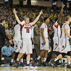 Louisville (34-5) rallied from a 16-point deficit in the title game at the Big East tournament, so coming back from 12 against Wichita State was nothing new.