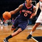 Teague has quietly developed into a solid starting point guard, and he's enjoyed playoff success before. Another good postseason run will strengthen Teague's value as a restricted free agent this summer.