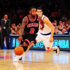 Defense is seldom a problem for Chicago, but offense certainly is. That's why Robinson, one of the team's few creators, is so critical to the Bulls' chances of advancing without Derrick Rose. Consistency has never been a Robinson hallmark, but he's capable of carrying the Bulls from the time to time, like he did in scoring 35 points to snap the Knicks' 13-game winning streak in April or exploding for 34 points in an overtime loss to Denver in March.