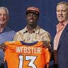 This happens frequently in the draft -- a team simply values an intriguing prospect much more favorably than just about anyone else. Webster could develop into a solid contributor, and he does not need to do a whole lot early, so there's time to grow. Webster, however, probably would have been around in Round 4 or 5.