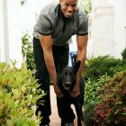 """I'm glad I can stop hiding and refocus on my 13th NBA season,"" Jason Collins said. ""I've been running through the Santa Monica Mountains in a 30-pound vest with Shadow, the German shepherd I got from Mike Miller."""