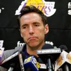The Lakers legend reacts to have reached the end of this collection of scintillating photographs.