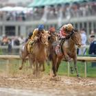 Derby favorite Orb won for a fifth consecutive time, rallying down the stretch on a muddy track to finish 2½ lengths ahead of Golden Soul in a time of 2:02.89. Here's a look at how other Kentucky Derby favorites fared in the famed mile-and-a-quarter race at Churchill Downs.