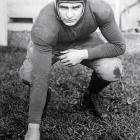 A three-time All-America in football at Michigan, Oosterbaan led the Big Ten with eight touchdowns in 1925. He was also an All-America in basketball in 1928 and a letterman in baseball. Oosterbaan became the Wolverines' football coach and led the team to a No. 1 ranking in 1948.