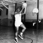 Robinson is best known for breaking baseball's color barrier with the Brooklyn Dodgers. But baseball may not have been his best sport at UCLA. Robinson won the national championship in the broad jump in 1940, twice led the Pac-10 in scoring in basketball and was an All-America at running back.