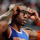 Stoudemire unveiled new, futuristic goggles for the 2012-13 season.