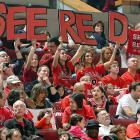 Fans at the NBA Playoffs