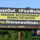A new billboard was erected along Highway 52 in Winston-Salem calling for the jobs of Wake Forest basketball coach Jeff Bzdelik and athletic director Ron Wellman. Bzdellik is 33-59 in three years as the Deamon Deacons coach and has never won more than five ACC Conference games.