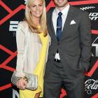 The free agent quarterback confirmed the relationship in late October 2012. He proposed to the ESPN sportscaster in early December 2012 and they were married later in the month. The two welcomed a daughter, Bowden, on July 2, 2014.