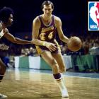 "On May 28, 2014, Jerry West, a model of brilliant basketball nicknamed ""The Logo"" for being the silhouette sandwiched between red and blue on the NBA's emblem, turned 76 years old. Also nicknamed ""Mr. Clutch"" for his knack for coming through when it mattered most, West led the Lakers to the NBA Finals nine times in his prolific 14-year career. He averaged 31.0 and 31.3 points in 1964-65 and '65-66, respectively, and tallied 25,192 points (the most in Lakers history) and 6,238 assists (second). West made a pretty good G.M., too, helping bring Kobe and Shaq to the Lakers."
