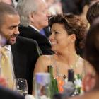 Actress Eva Longoria Parker and Tony during the 2009 Screen Actors Guild Awards. The couple would divorce in 2010.