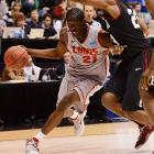 Snell is a rangy player with decent offensive skills and the physical tools to be a solid defender. His three-point shooting steadily improved over three years at New Mexico, topping out at 39 percent last season.