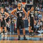 Parker and the Spurs try to stay focused against the Memphis Grizzlies in Game 4 of the Western Conference quarterfinals in 2011. Memphis prevailed as the Spurs became the fourth No. 1 seed in history to lose to an eight-seed.
