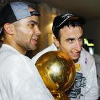 Parker and Manu Ginobili played in their first NBA Finals in 2003, and could become four-time champions if the Spurs prevail in the 2013 Finals.