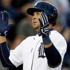 A 31-year-old two-time All-Star, Peralta has been one of the game's better offensive shortstops since 2005, and one of the most durable, averaging 149 games per year between 2005-2012. In fact, what sets him apart from virtually everybody else in this group is that he's never been on the disabled list as a major leaguer. Even so, he's been wildly inconsistent from year to year. This has been one of his best seasons, batting .305/.360/.461 with 11 homers.