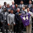 On June 5, 2013, the Ravens celebrated their 2012 championship season with a trip to the White House.