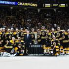 The first team to emerge from the so-called Tournament of Champions (the previous four Stanley Cup-winners were in the conference finals), the Bruins took aim at winning the seventh Stanley Cup in franchise history.