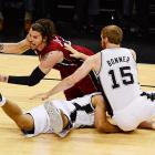 Mike Miller was the lone bright spot for the Heat, diving for loose balls and making all five of his shots to finish with 15 points.