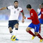Dempsey & Co. defeated Costa Rica in a World Cup Qualifier, 1-0, during a blizzard at Dick's Sporting Goods Park in Commerce City, Colo.