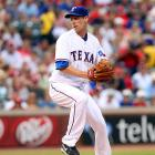 The Rangers acquired Lee in July. He went 4-6 for Texas in the regular season.
