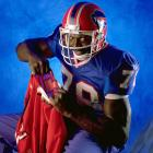 Bruce Smith poses during a photo shoot.