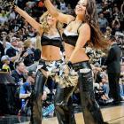 San Antonio Spurs Silver Dancers