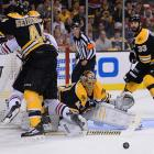 Bruins goaltender Tuukka Rask and towering defenseman Zdeno Chara played brilliantly for most of the postseason, but ultimately wore down. Rask allowed six goals in Game 4 and the backbreaking pair within the span of 76 seconds in Game 6. But he was often left vulnerable by his defense. Chara was minus-6 for the final three games of the series.