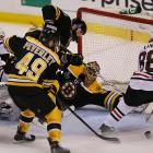 """The Blackhawks stormed back after Boston took a 2-1 lead in the third period. """"It's obviously shocking when you think you have everything under control,"""" said Bruins goalie Tuukka Rask."""