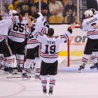 At the sound of he final horn, the Blackhawks celebrated their second Stanley Cup title since 2010.