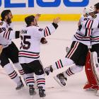 Just when Boston looked like it would force a decisive Game 7, Bryan Bickell and Dave Bolland scored for Chicago within 17 seconds of each other to erase a 2-1 deficit in the final two minutes of the third period.