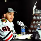 The Blackhawks winger is only the fourth American player, but the in a row to win the NHL's postseason MVP honors. Kane came on strong late in the playoffs, scoring seven goals in Chicago's final eight games as the Hawks won their second Stanley Cup since 2010. His heroics included a hat trick in the decisive fifth game of the Western Conference Finals against the defending Cup champion Los Angeles Kings, a goal and OT assist in Game 4 of the Stanley Cup Final vs. Boston and two tallies In Game 5. In all, Kane finished with nine goals, 19 points and a plus-seven rating in 23 games.