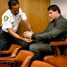 Sports Figures in Handcuffs