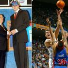 Darko Milicic was selected by the Pistons with the No. 2 overall pick, a Serbian-born player taken at the top of an international class. Milicic saw little playing time with Detroit, however, averaging 1.6 points per game in under 5 minutes a game. Milicic was traded to the Magic in 2006 and saw a dramatic increase in minutes and scoring. He was not re-signed, and bounced around to the Grizzlies, Knicks, and Timberwolves before being released by the Celtics at his request during the 2012 season after only playing for 5 minutes.