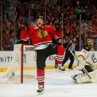 """Agitating energy winger Andrew Shaw, a hero of the Blackhawks' run to the 2013 Stanley Cup — particularly their 3-OT win in Game 1 — was passed over in two successive NHL Drafts until Chicago finally took him in the fifth round, 139th overall, in 2011. """"Best 19th rounder ever,"""" joked teammate Patrick Kane."""