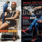 Dennis Rodman has been a character since his days in the NBA. This week's double issue takes a look at Rodman's most recent adventures (and recreates a 1995 cover). Dennis Rodman at His Finest (gallery) Where are they now: Dennis Rodman (video)