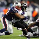 A Baltimore win over New England on his 25th birthday would have sent Ray Rice to his first Super Bowl. He didn't exactly help matters with his meager 67 yards on 21 carries and one reception for 11 yards. Nor did Lee Evans, who dropped a pass in the end zone, nor Billy Cundiff, whose errant 32-yard field goal attempt with 15 seconds left prevented the game from going into overtime.