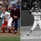 Carlton Fisk's bomb off Reds lefty Pat Darcy in the bottom of the 12th stayed fair, forcing a Game 7 in the 1975 World Series.