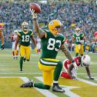 Green Bay tight end Tom Crabtree didn't catch many passes in 2012 -- just eight -- but on Nov. 4, his 27th birthday, he was on the receiving end of one of the Packers' longest plays of a season. Crabtree's 72-yard touchdown catch helped Green Bay defeat Arizona 31-17.